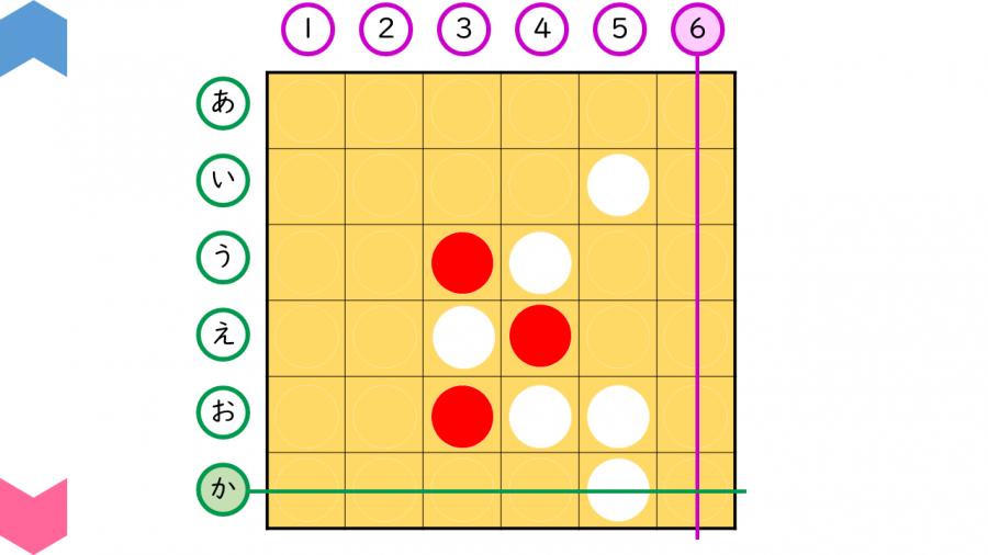 04040[算数]あそんでみよう!源平碁(6×6)