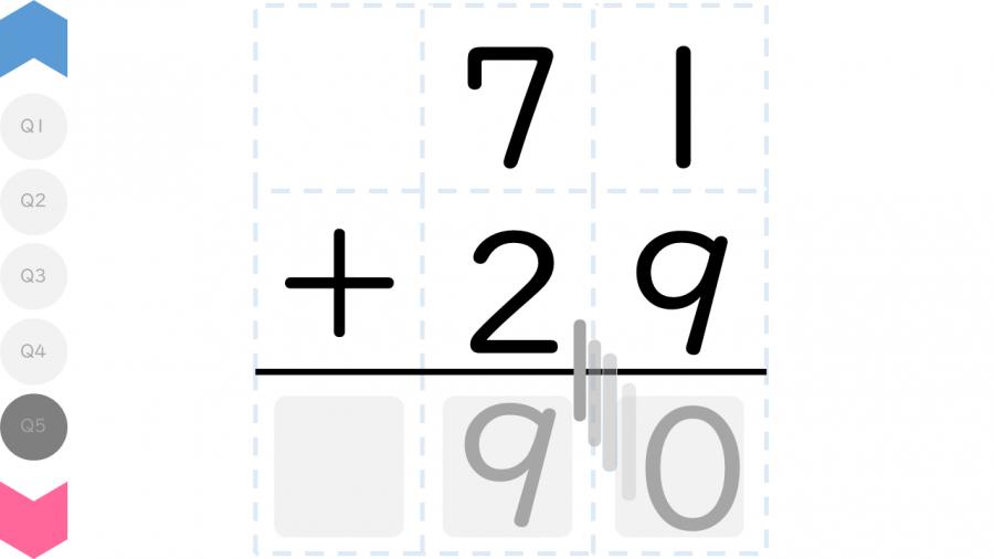 04061[数学]数字が動く筆算 (2位数+1位数・2位数)