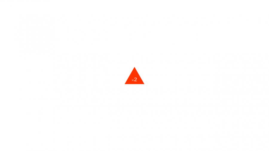 A025[TUP]押すと2回ON/OFFできる三角