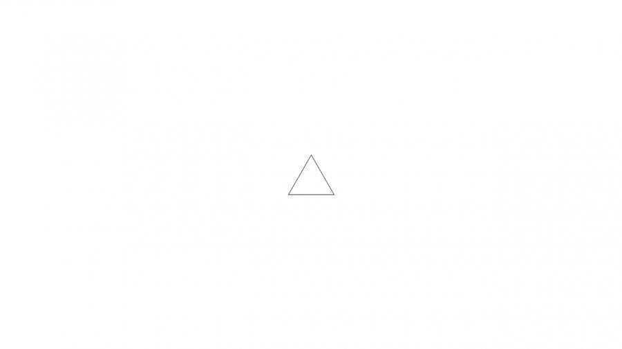A027[TUP]押すと色が変わる三角(2色)