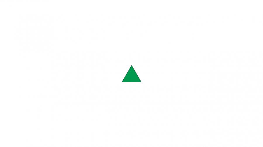 A028[TUP]押すと色が変わる三角(3色)