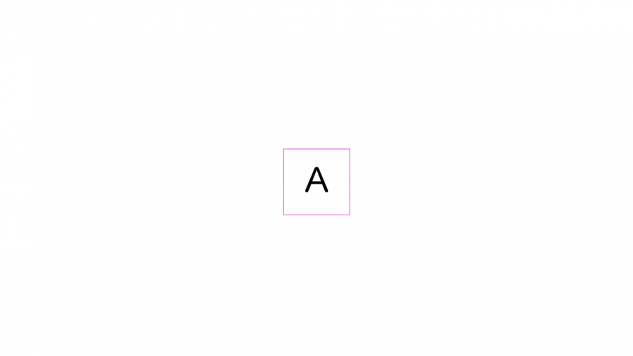 A058[TUP]押すと文字が変わる四角(4種)
