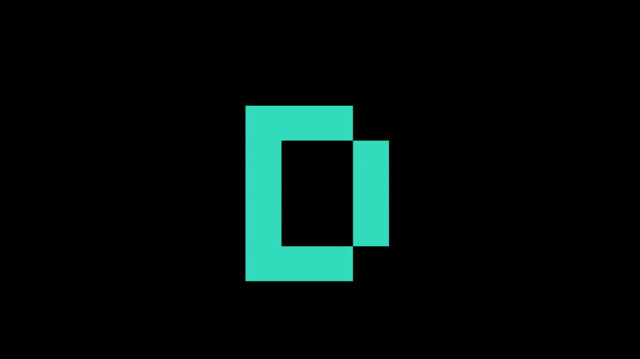 A066[TUP]ドット絵キャンバス(18×11)緑ー黒