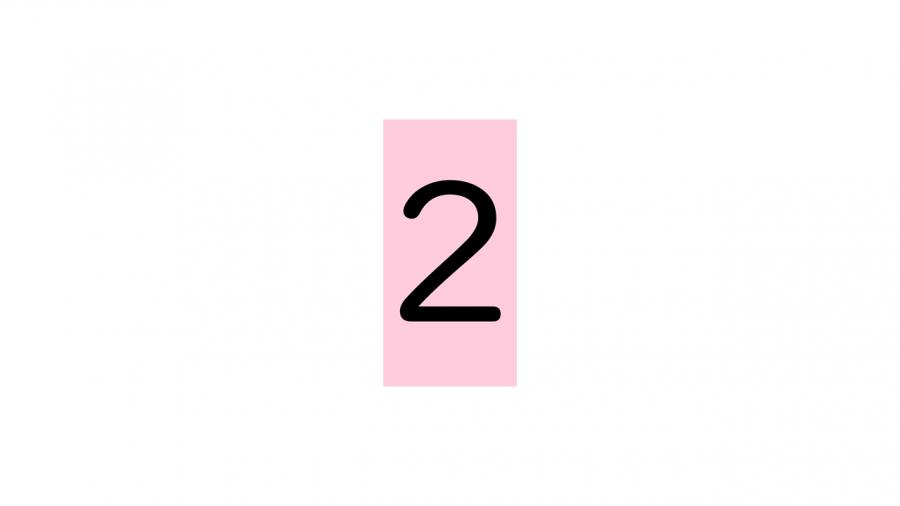 A077[TUP]押すと変わる数字の画像(半角)