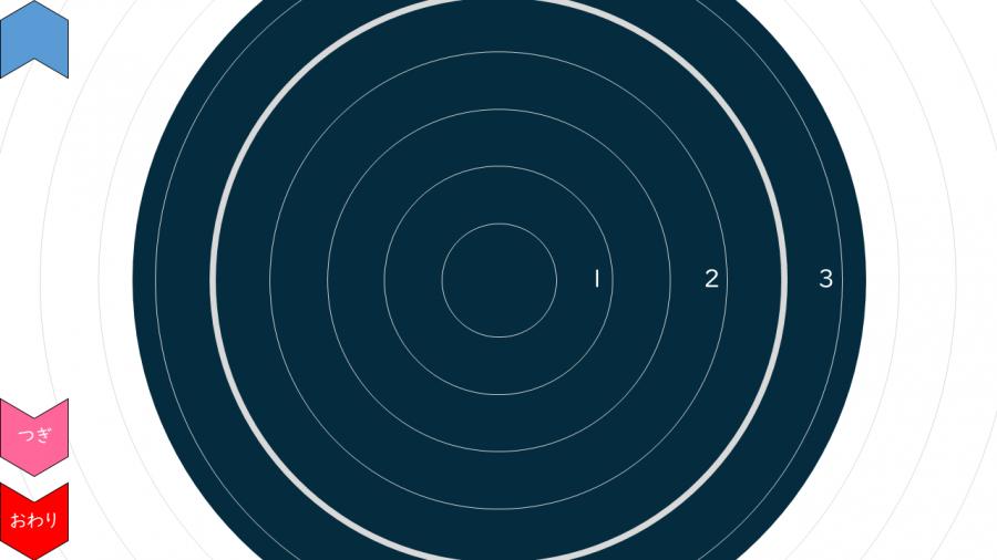 A080[TUP]上から見た砂時計タイマー(1/3/5/10分)目盛り付